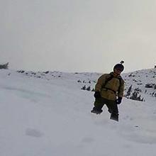 Hike and Backcountry Snowboarding Paul Ridge Squammish