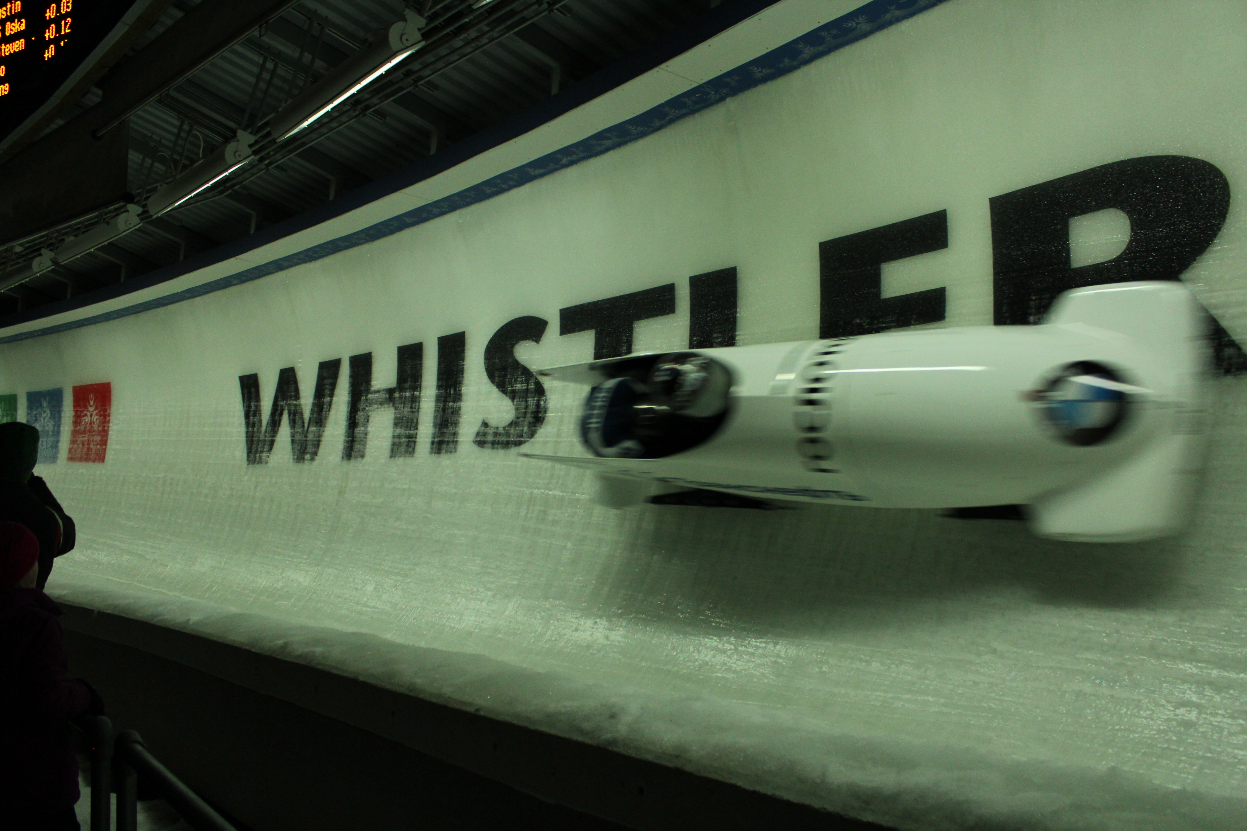 Bobsled World Cup In Whistler