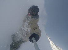 Powder in Whistler