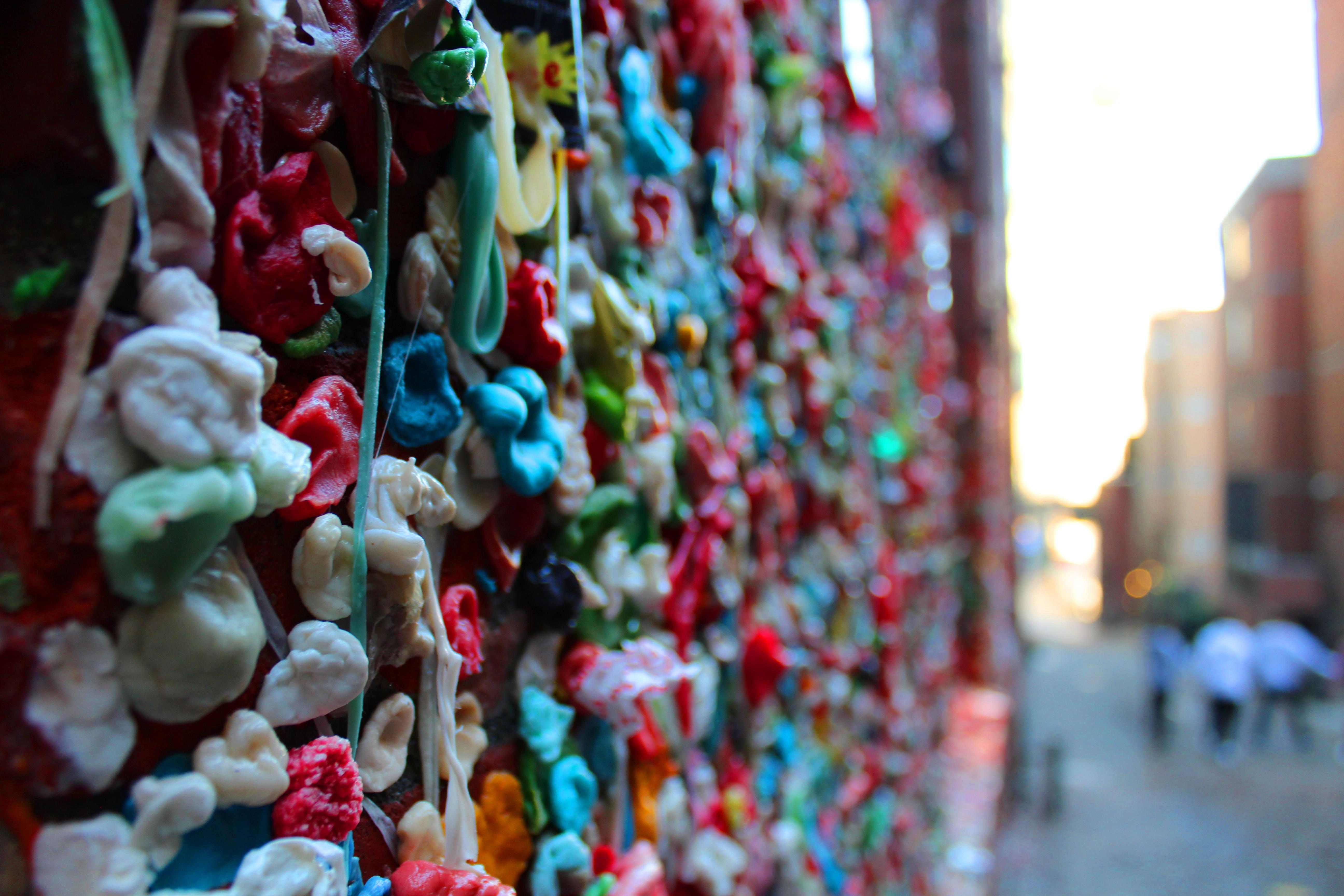 Gum Wall Seattle WA