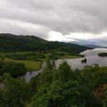 Queens view i det skotske højland.