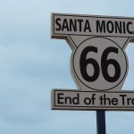 Westcoast Roadtrip Santa Cruz - Los Angeles 19 Santa Monica Route 66