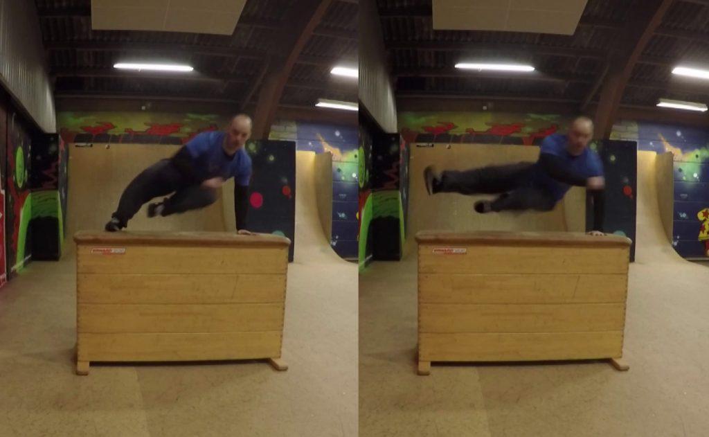 Lær Parkour og freerunning for begyndere - forskellen på safetyvault og speed vault