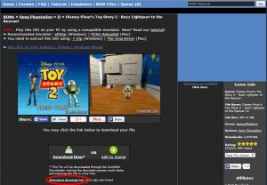 Download Free Playstation 1 Games Screenshot