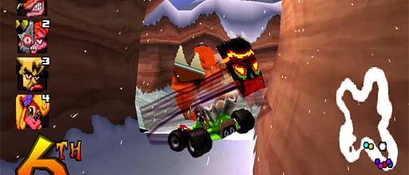 Crash Team Racing Shortcuts