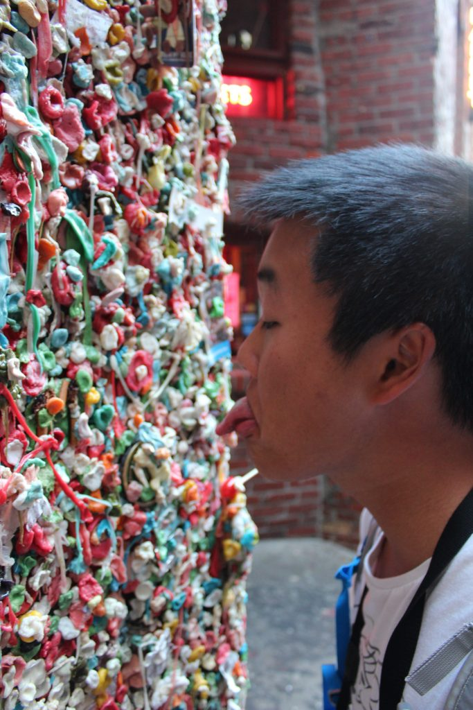Gum Wall Seattle WA