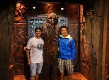 Chewbacca and Starwars in Disneyland, Los Angeles, California