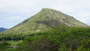 Koko head crater hiki, Hawaii