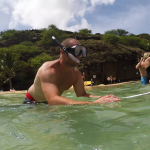Snorkeling in Hanauma Bay, Hawaii