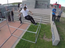 DK Sampler 2016 - Parkour and freerunning