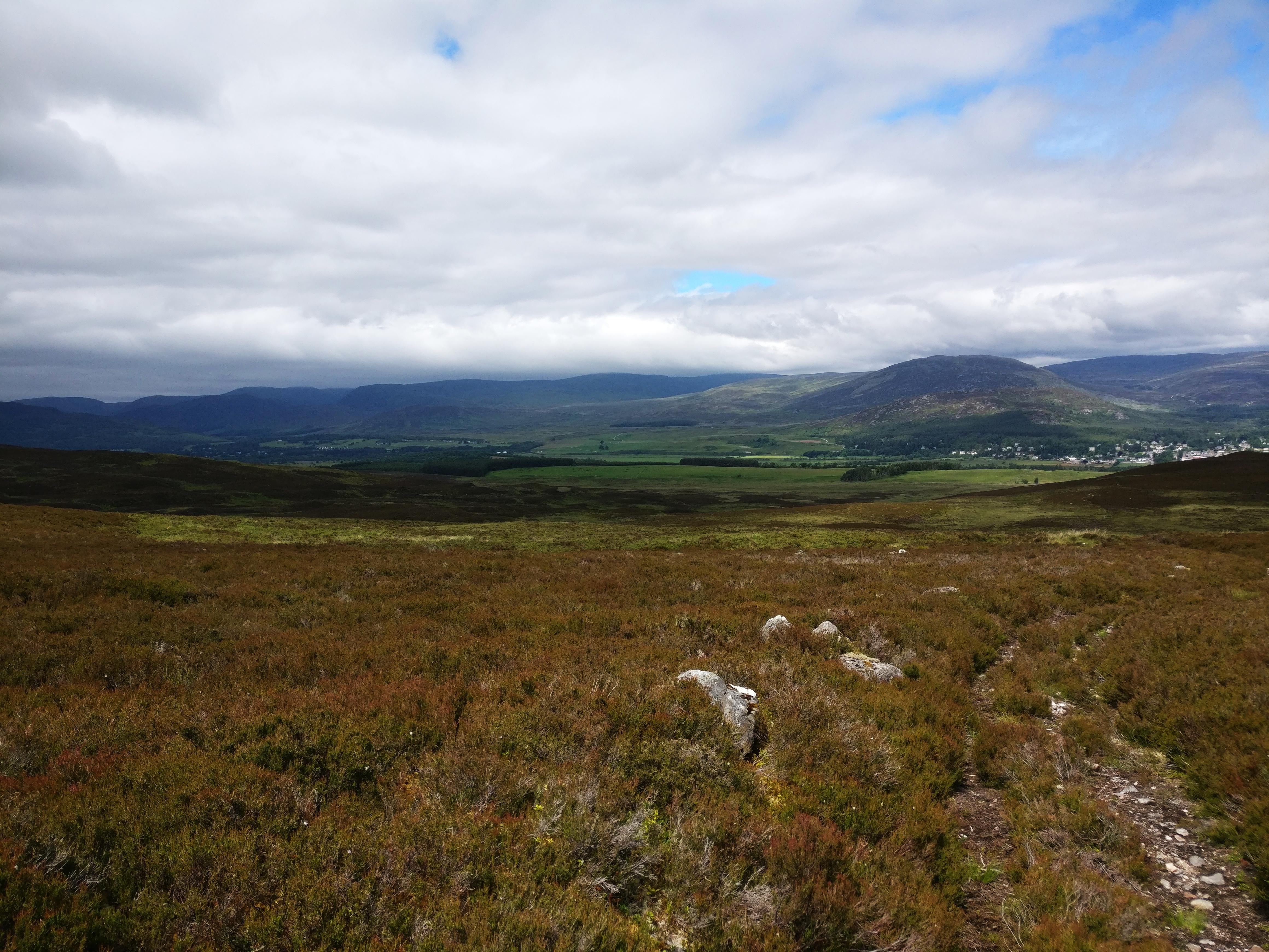 Hike in Kingussie, Cairngorm National Park, Skotland
