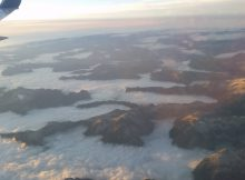 Flyver til Vancouver på vej til Whistler