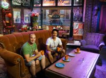 Central Perk fra Friends, Warner Brothers Studios, Los Angeles, Californien