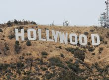 Hollywood skiltet USA Roadtrip