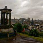 Dugald Stewart Monument, Calton Hill, Edinburgh, Skotland