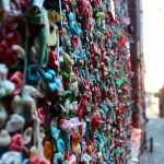 Gum Wall Seattle Washington USA2