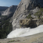 Kraftfuldt Vandfald Yosemite Californien