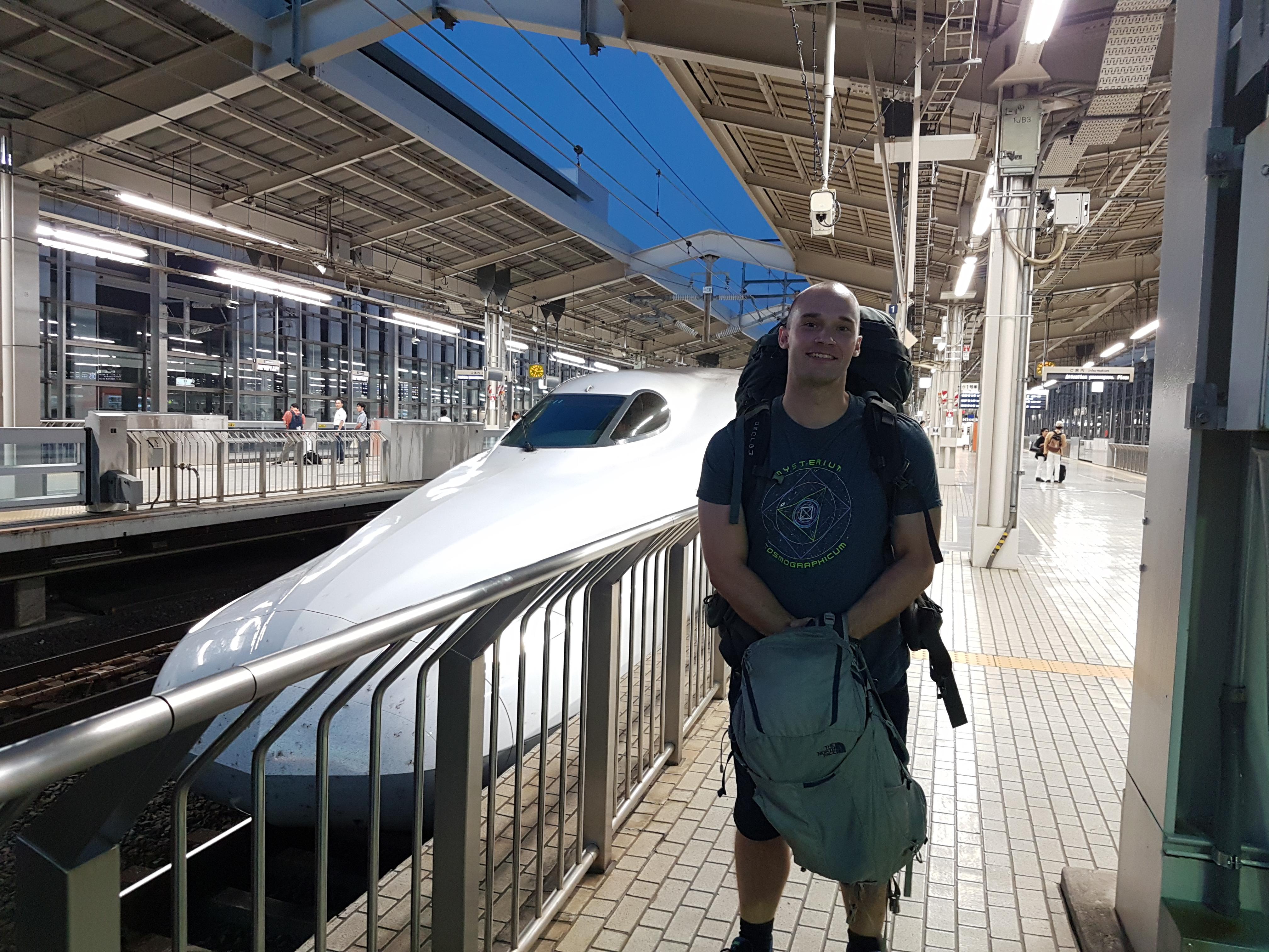 Shinkansen, Tokyo - Kyoto - Hiroshima, Japan