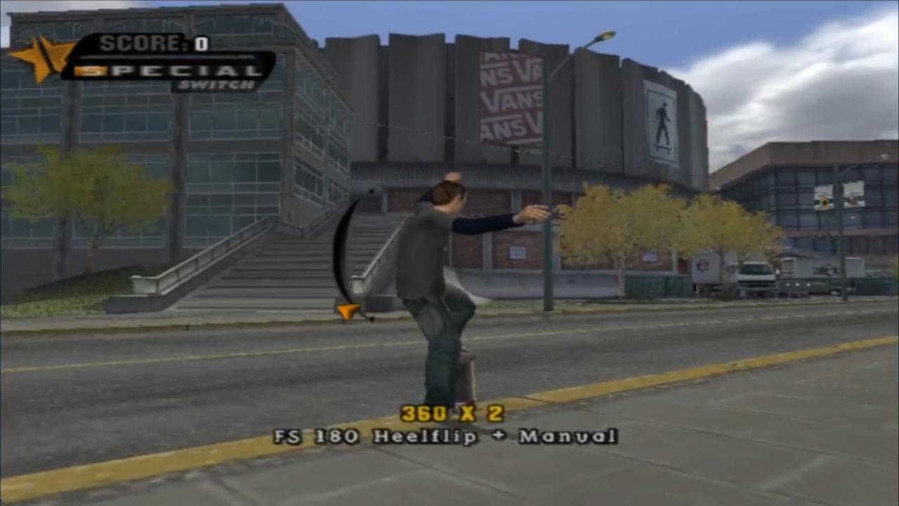 Not only did Tony Hawk's Pro Skater (THPS) allow me to skate without injury, I could also land tricks I could never do in real life. In THPS HD you'll find some of the most beloved skate parks from the earlier games such as The Hanger, Venice Beach, Marseille and of course the legendary Schoolyard.