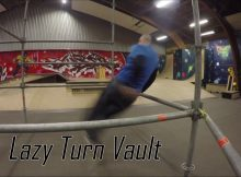 Lær Parkour og freerunning for begyndere - Lazy Turn Vault tutorial
