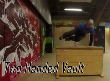 Lær Parkour og freerunning for begyndere - Two handed vault tutorial