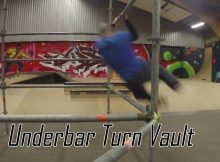 Lær Parkour og freerunning for begyndere - underbar turn vault tutorial