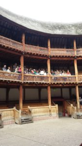 Shakespeare's The Globe, London, England