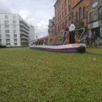 Kanalerne ved Camden Market, London, England