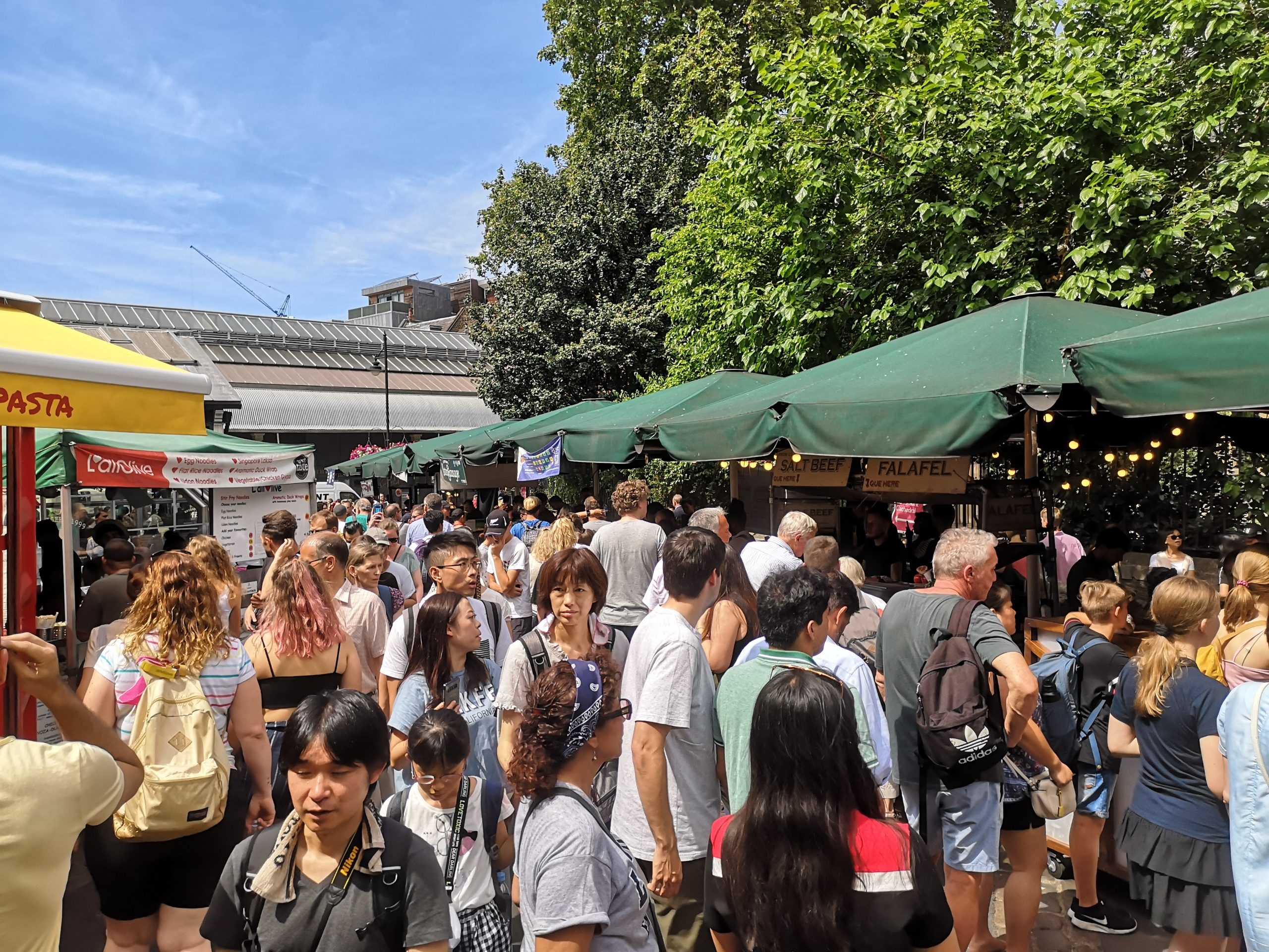 Borough Food Market, London, England