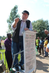 Speakers corner, Hyde Park, London, England