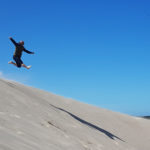 Råbjerg Mile spring fra sandklitter