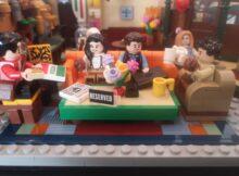 Lego Timelapse Central Perk