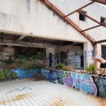 Abandoned Hotel Belvedere, Dubrovnik, Kroatien