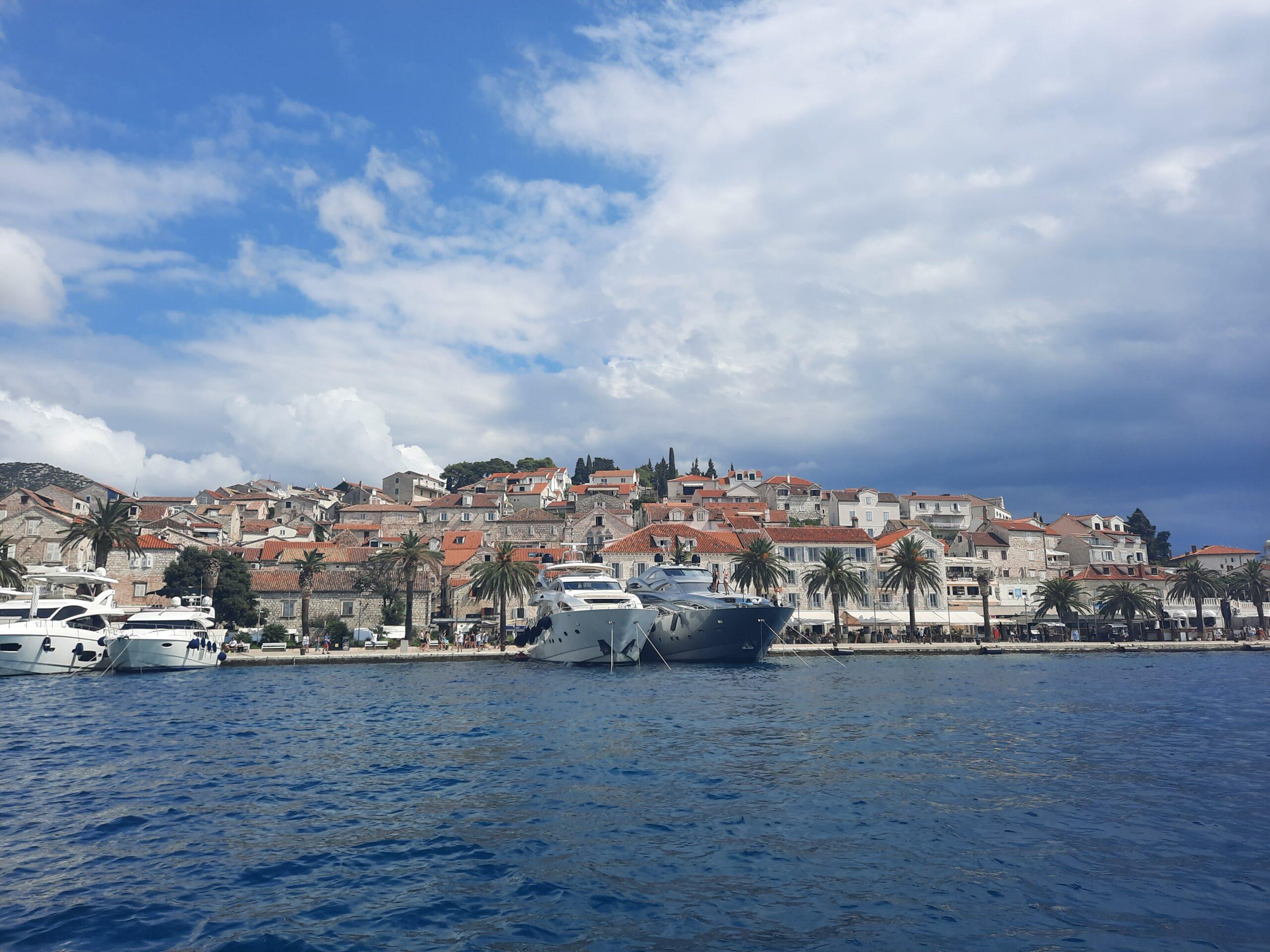 Speedbådstur, Hvar, Split, Kroatien