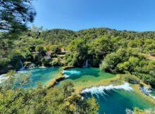 Krka NP, Skradinski buk, Kroatien. Foto: Cecilie Eske Hansen