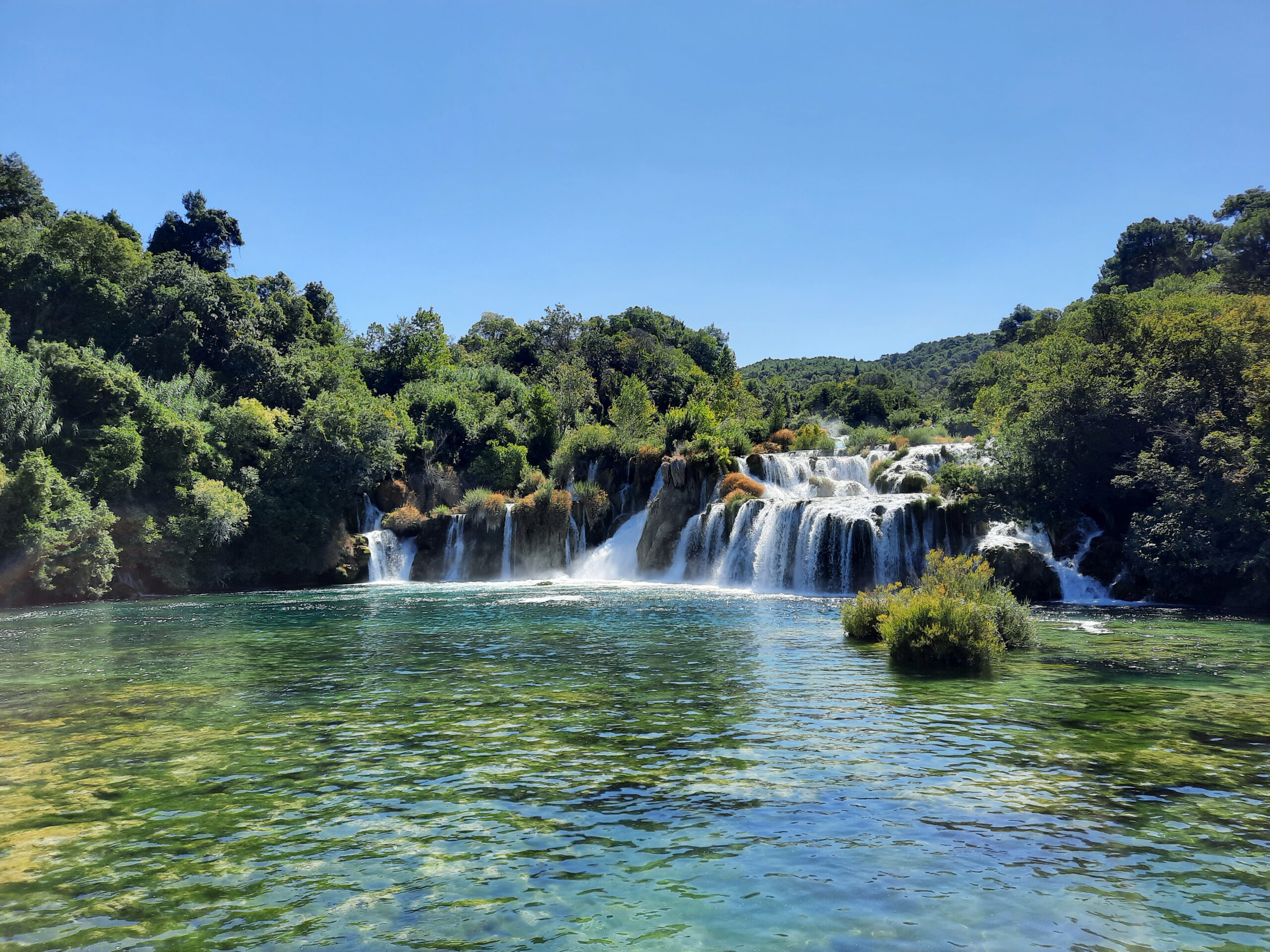 Skradinski Buk, Krka, Kroatien