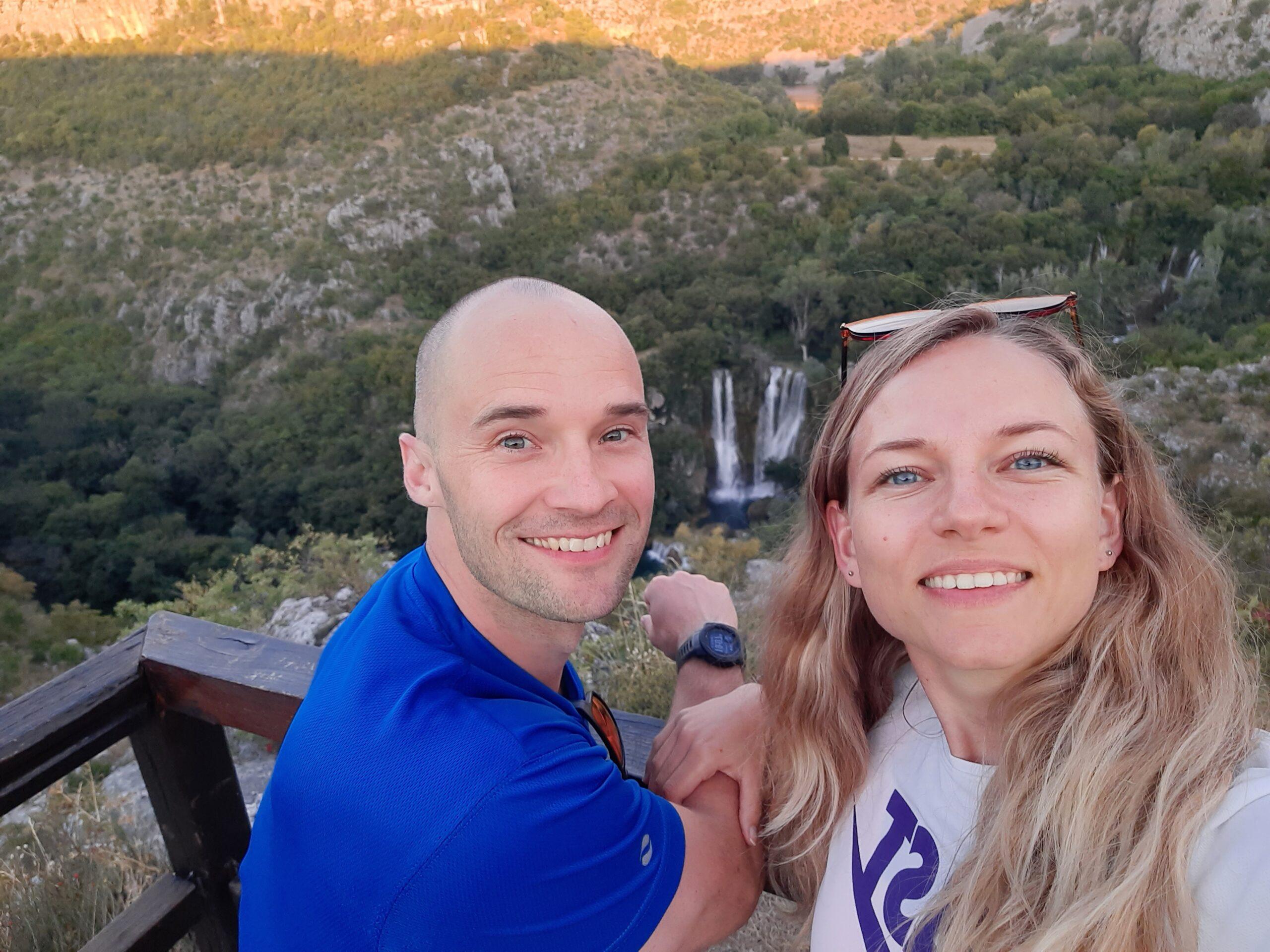 Manojlovac Slap, Krka, Kroatien